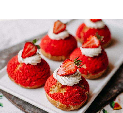 strawberry-round-cakes-yummy-delicious-with-cream-sliced-strawberries-inside-white-plate_Resize